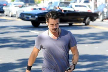 Colin Farrell Colin Farrell Goes Out for Lunch