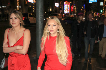 Corinne Olympios Corinne Olympios Visits the Roosevelt Hotel in Hollywood