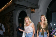 Corinne Olympios Outside Craig's Restaurant In West Hollywood