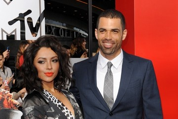 Cottrell Guidry Kat Graham Arrivals at the MTV Movie Awards