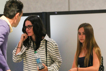 Courteney Cox Courteney Cox Spotted At LAX