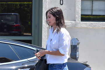 Courteney Cox Ginnifer Goodwin And Josh Dallas Step Out Together In LA