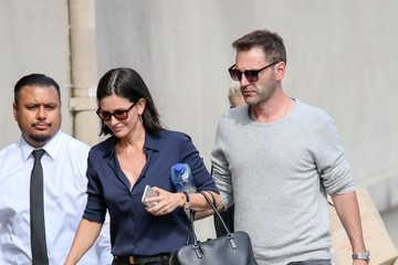Courteney Cox Courteney Cox and Johnny McDaid in Hollywood