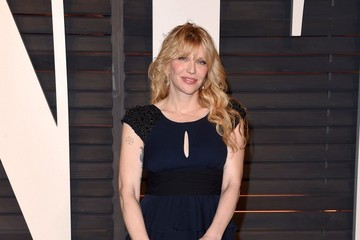 Courtney Love Stars at the Vanity Fair Oscar Party