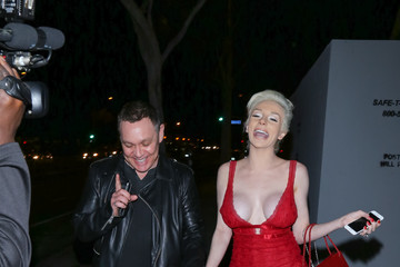 Courtney Stodden Courtney Stodden and Doug Hutchison Valentines Dinner at Dan Tana's in West Hollywood
