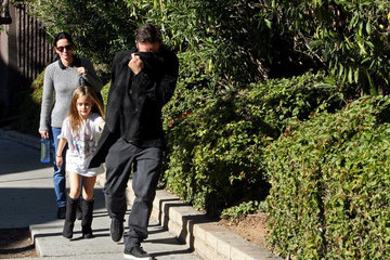 David Arquette Courteney Cox Courteney Cox and David Arquette Out and About
