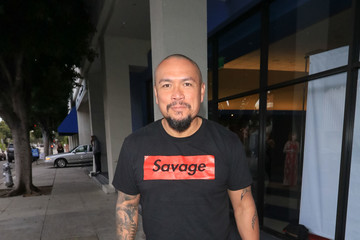 Crispin Alapag Crispin Alapag Outside The Writer's Guild Theatre In Beverly Hills