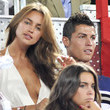 Cristiano Ronaldo and Irina Shayk at a Basketball Game