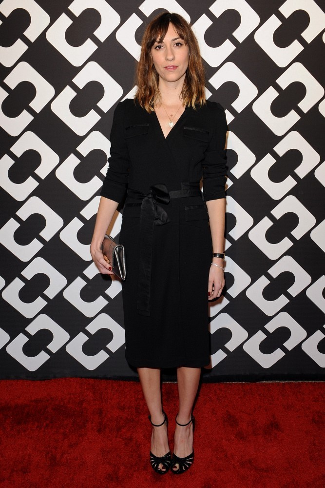 "Diane Von Furstenberg&squot;s ""Journey of a Dress"" 40th Anniversary Party..Wilshire May Company Building, Los Angeles, CA..January 10, 2014..Job: 140110A1..(Photo by Axelle Woussen/Bauer-Griffin)..Pictured: Gia Coppola."