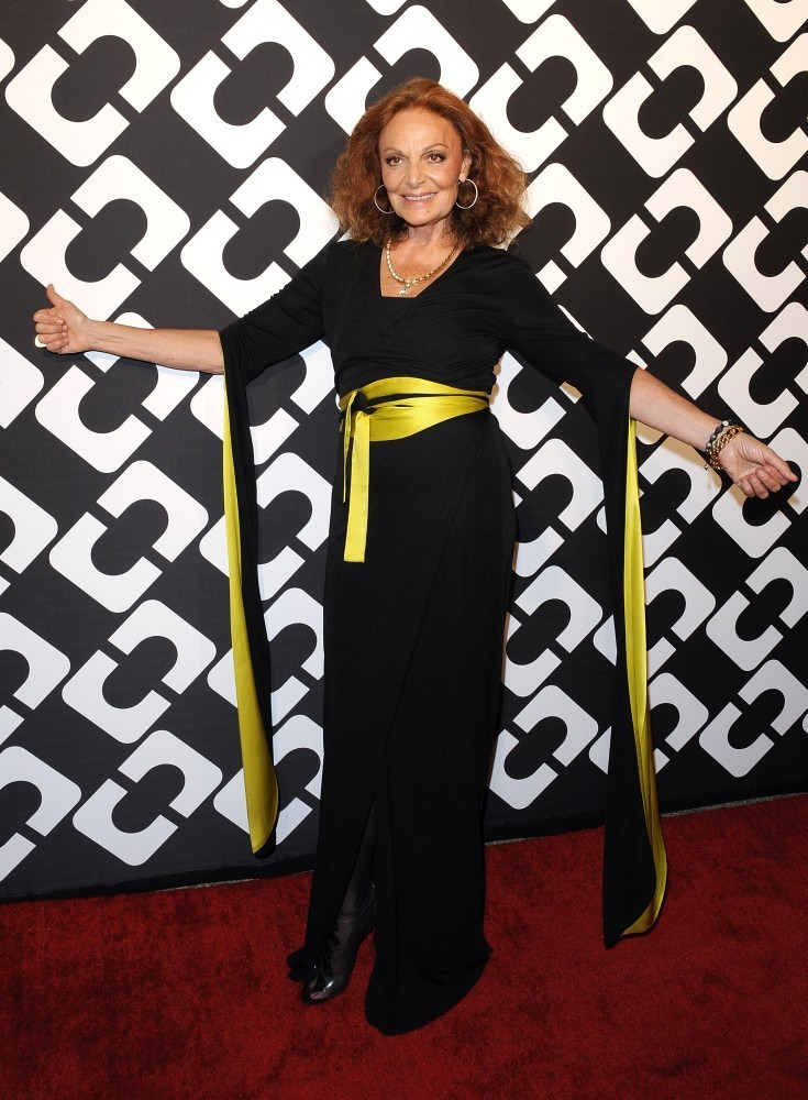 "Diane Von Furstenberg&squot;s ""Journey of a Dress"" 40th Anniversary Party..Wilshire May Company Building, Los Angeles, CA..January 10, 2014..Job: 140110A1..(Photo by Axelle Woussen/Bauer-Griffin)..Pictured: Diane Von Furstenberg."