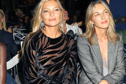 Kate Moss and Cecilia Bonstrom are seen attending The Daily Front Row's 7th annual Fashion Media Awards at The Rainbow Room in New York City.