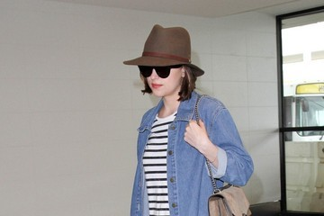 Dakota Johnson Dakota Johnson Seen at LAX