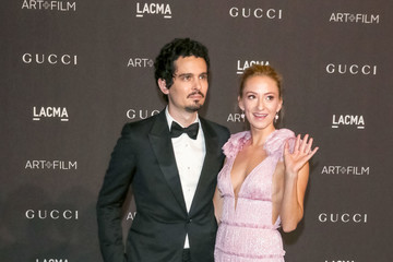 Damien Chazelle Olivia Hamilton 2018 LACMA Art Film Gala Honoring Catherine Opie And Guillermo Del Toro Presented By Gucci