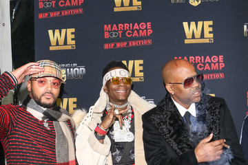 Damon Dash WE tv Celebrates The Premiere Of Marriage Boot Camp: Hip Hop Edition And Growing Up Hip Hop