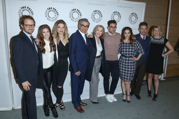 Daniel Levy Emily Hampshire Paley Center for Media presents PaleyLive LA: An Evening with 'Schitt's Creek'
