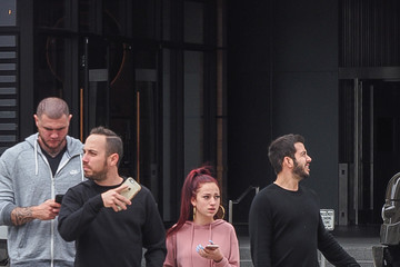 Danielle Bregoli 'Cash Me Ousside' Girl Danielle Bregoli Is Seen Out With Her Entourage