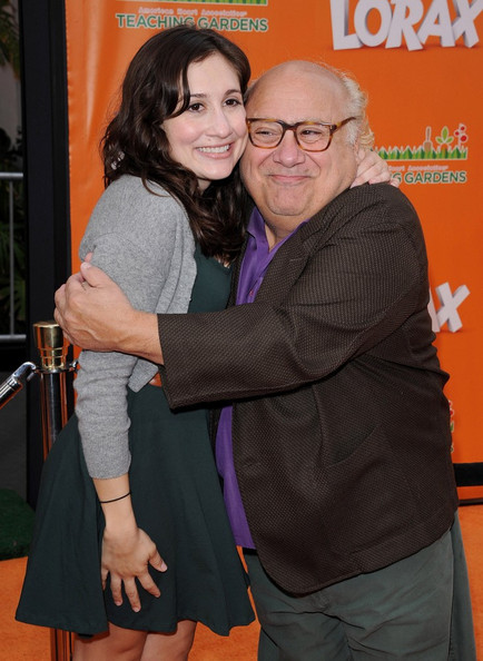 Photo of Danny DeVito & his  Daughter  Lucy DeVito