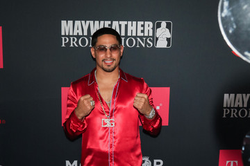 Danny Garcia VIP Pre-Fight Party Arrivals on the T-Mobile Magenta Carpet for Mayweather VS McGregor
