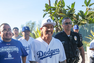 Danny Trejo Danny Trejo Is Seen at Game Two of the World Series