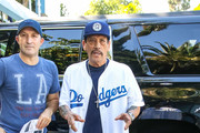 Danny Trejo Is Seen At The L.A. Dodgers vs. Milwaukee Brewers Game