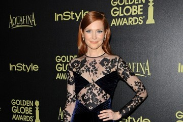 Darby Stanchfield Golden Globe Awards Season Celebrated