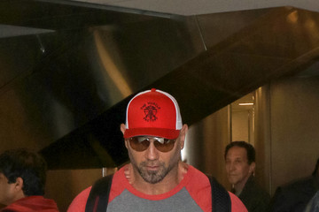 Dave Bautista Dave Bautista at LAX