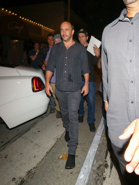 Dave Matthews Outside Craig's Restaurant in West Hollywood