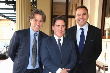 David Walliams The Queen Hosts Reception to Present the Queen's Young Leaders Awards