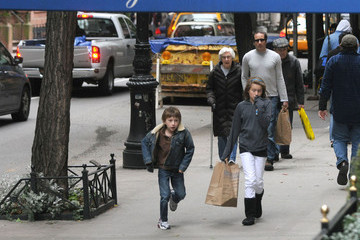 Kyd Duchovny David Duchovny with his Family