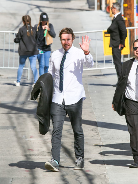 Dax Shepard At 'Jimmy Kimmel Live' - 1 of 12