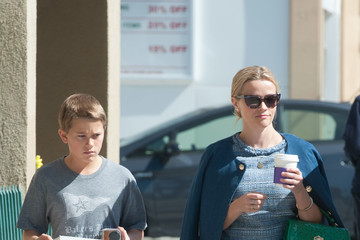 Deacon Phillippe Reese Witherspoon Has a Day Out