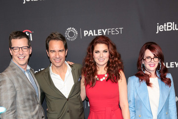 Debra Messing Megan Mullally The Paley Center For Media's 35th Annual PaleyFest Los Angeles - 'Will & Grace'