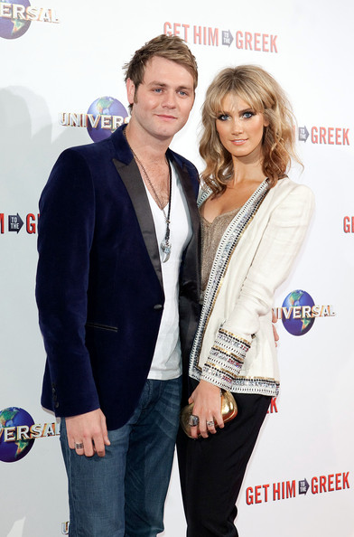 brian mcfadden and delta goodrem. Brian McFadden and Delta Goodrem - Premiere of quot;Get Him to the Greekquot; In