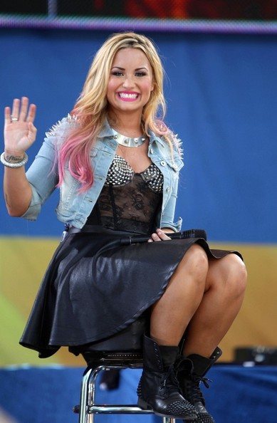 Demi Lovato - Demi Lovato on 'Good Morning America'