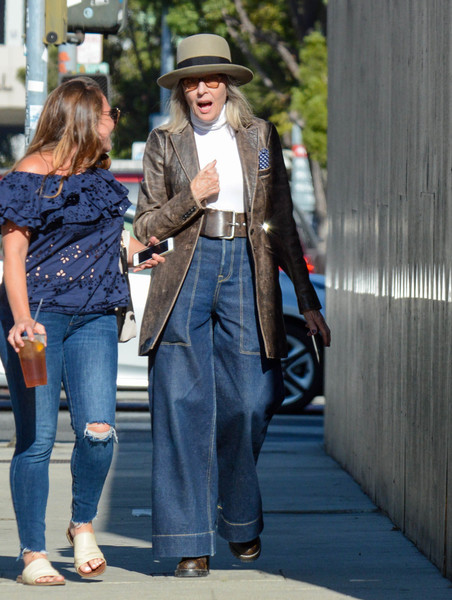 Diane Keaton Seen In Los Angeles
