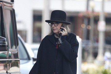 Diane Keaton Diane Keaton Spotted at a Gas Station