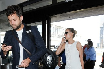 Diane Kruger Diane Kruger and Joshua Jackson at LAX