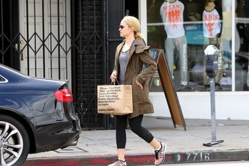 Dianna Agron Dianna Agron Shops in West Hollywood
