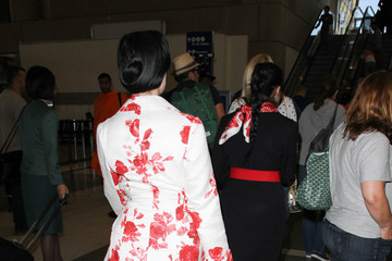 Dita Von Teese Dita Von Teese Is Seen at LAX