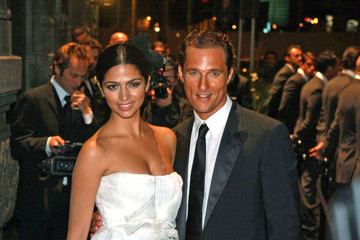 Matthew McConaughey Camila Alves Dolce and Gabbana, Horse and Carriage