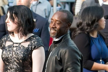 Don Cheadle 'Avengers: Age of Ultron' Cast Street Candids