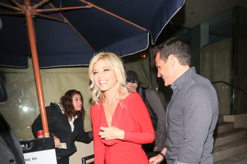 Donna D'errico Donald Friese Dines Out At Catch Restaurant In West Hollywood