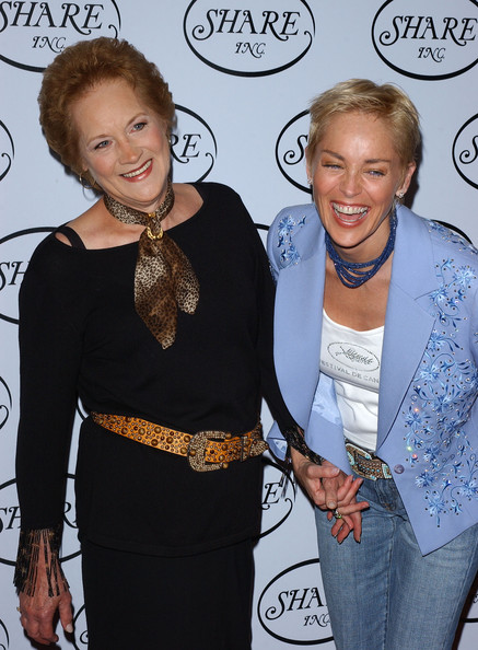 Photo of Sharon Stone & her Mother  Dorothy Stone