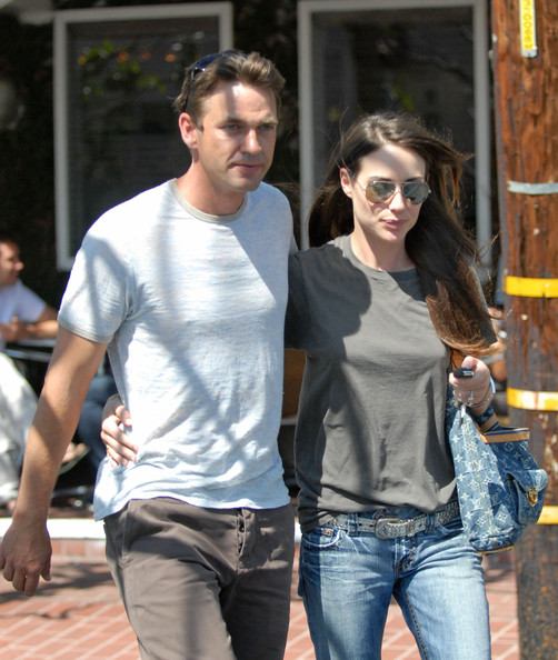 Dougray Scott and his wife Claire Forlani