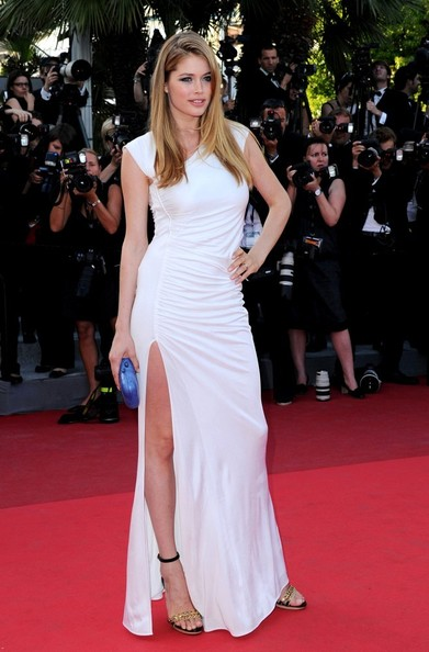Doutzen Kroes 'The Beaver' premiere during the 64th Cannes Film Festival.