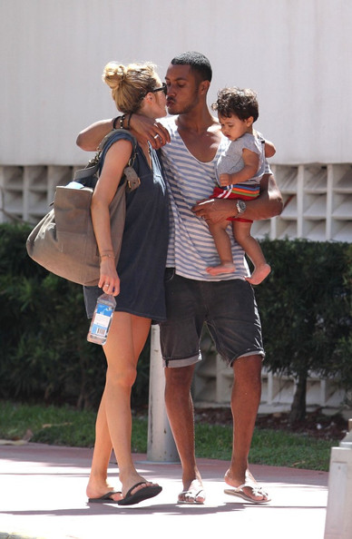 Family photo of the dj, married to Doutzen Kroes, famous for Sunnery James & Ryan Marciano.