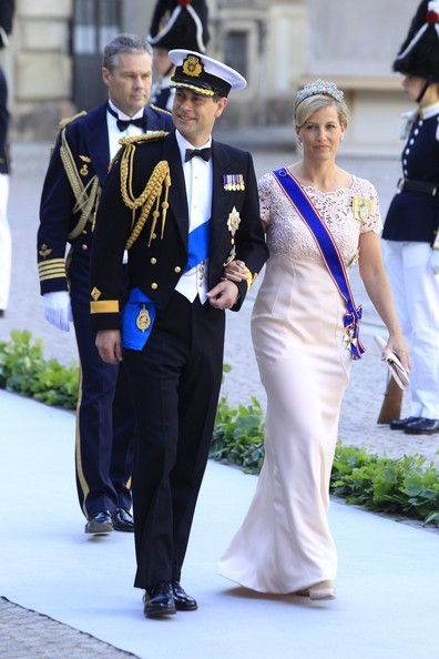 Arrivals at the Swedish Royal wedding