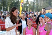 Duke & Duchess of Cambridge Visit Manly Beach