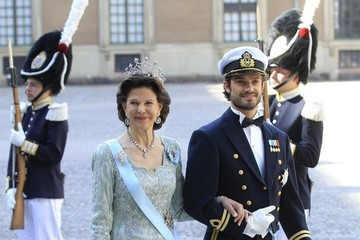 Duke of Varmland Arrivals at the Swedish Royal wedding