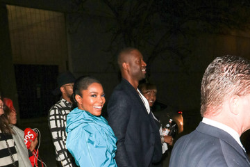 Dwayne Wade Gabrielle Union And Dwayne Wade Outside ArcLight Theatre